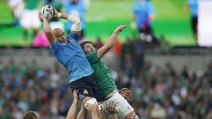 Sergio Parisse is Italy's key man