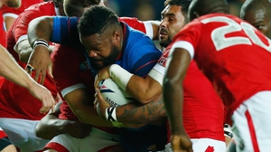 Mathieu Bastareaud leads France in Cardiff