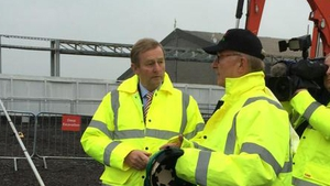 Enda Kenny was speaking at the announcement of a new power plant in Co Mayo