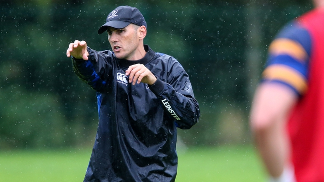 Girvan Dempsey appointed Leinster backs coach