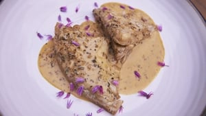 This fish recipe from Rachel Allen is sure to impress; Beer Braised Turbot with Sage and Cream