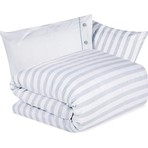 Tickling Stripe Mint Bedcovers, €19