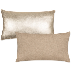 Gold Foil Oblong Cushion, €6