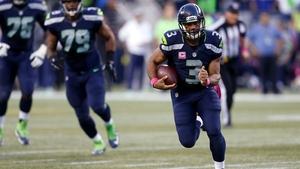 Russell Wilson threw 287 yards