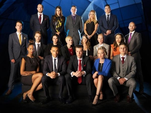 The new batch of candidates on this year's Apprentice