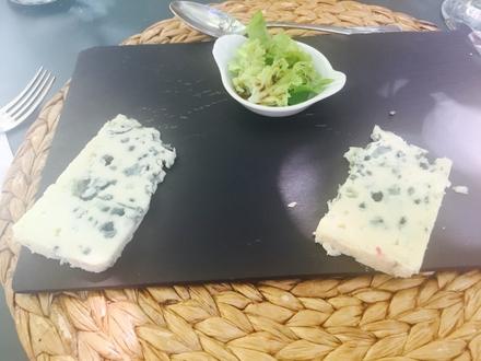 Dessert at Le Clos Sainte Cécile Restaurant, Albi.