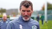 Roy Keane in Abbotstown this morning
