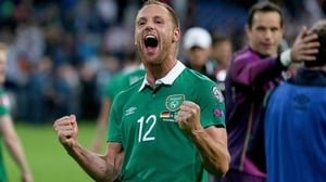 David Meyler wore the green with pride