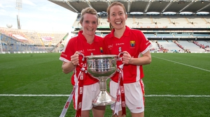 Briege Corkery (L) and Rena BUckley have both won All-Stars