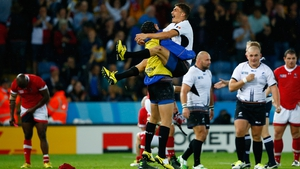 Romania recorded a sensational victory over Canada