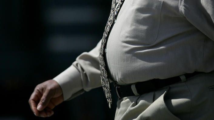Survey: Irish feel healthy, but 60% are overweight