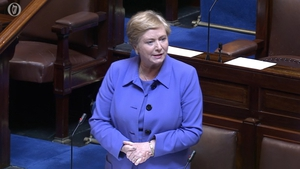 Frances Fitzgerald said it was a day to thank the people of Ireland for their vote in May