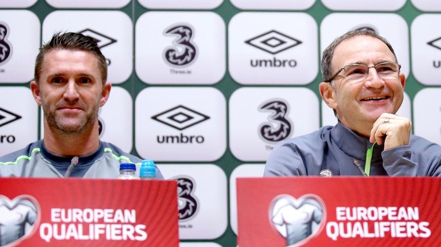 Martin O'Neill & Robbie Keane