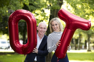 Ray D'Arcy joins Kathryn Thomas for Operation Transformation 2016