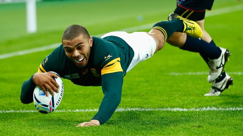 Habana scored 67 tries in the 124 Test appearances for South Africa