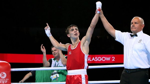Michael Conlan is in action at 5pm