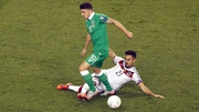 Republic of Ireland's Robbie Brady tackled by Ilkay Gundogan of Germany