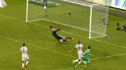 Shane Long buries the only goal of the game past Manuel Neur