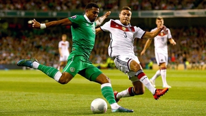Cyrus Christie rose to the challenge of stepping in for Seamus Coleman