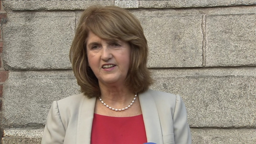 Opposition TDs were critical of Joan Burton's record
