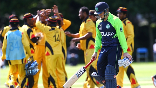 Gary Wilson's knock of 70 wasn't enough to save Ireland from two wicket defeat