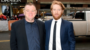 Domnhall, I am your father. Gleeson the younger is not dishing any Star Wars Episode VII info to his dad