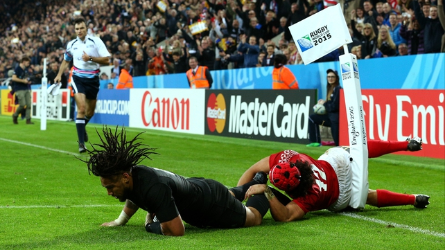 Nonu marks 100th cap with try in All Blacks romp