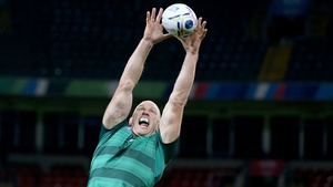 Paul O'Connell will captain Ireland from the second row