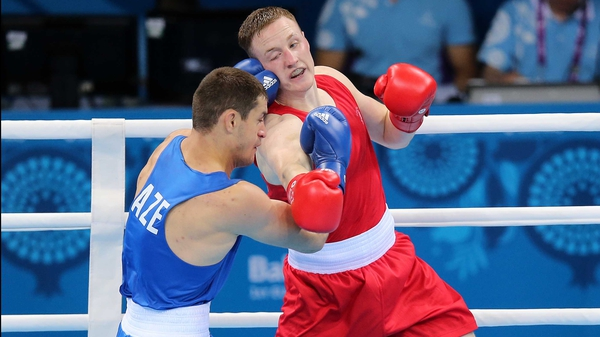 Michael O'Reilly is looking to secure a place in Rio