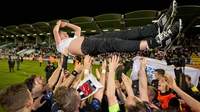 Kenny hails Dundalk journey to double champions