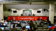 Martin O'Neill and Shane Long spoke to the media in Warsaw today