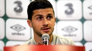 Shane Long spoke to the media in Warsaw today