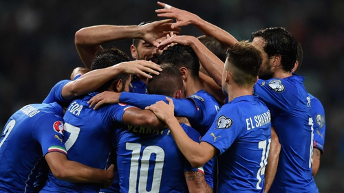 Italy have qualified for France with a game to spare