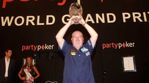 Robert Thornton upset the odds at the Citywest Hotel (pic: Lawrence Lustig/PDC)