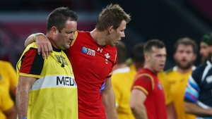 Liam Williams joins the long list of walking wounded for Wales
