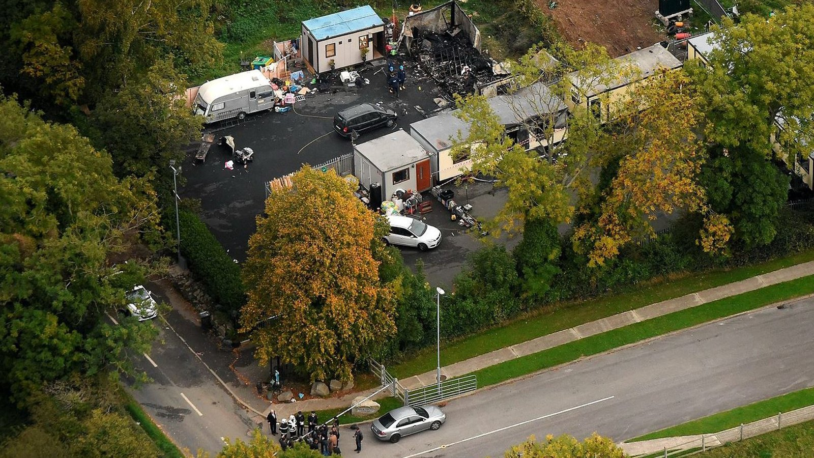 Inquest hears how children were pulled from deadly fire