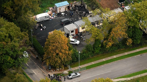 The fire caused the deaths of five adults and five children (Pic: Sunday Independent)