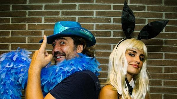 Javier Bardem and Penelope Cruz