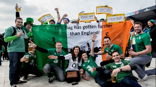 Fans optimistic about Ireland's rugby chances