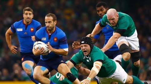 Frederic Michalak missed a penalty and a key tackle for France
