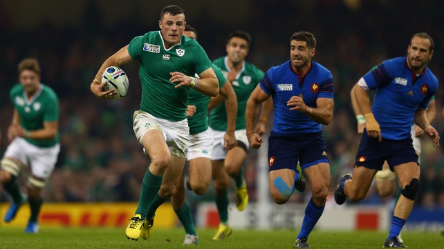 Robbie Henshaw will wear the Leinster blue from the start of next season