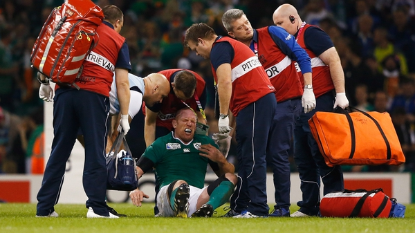 Paul O'Connell's Ireland career is over