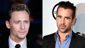 Tom Hiddleston does his best Colin Farrell