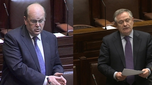 Michael Noonan will address the Dáil at 2.15pm and Brendan Howlin will address the Dáil at 3pm