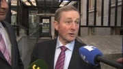 Enda Kenny was speaking on his way into a Cabinet meeting this morning