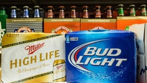 SABMiller said that lager sales in Europe continued to be weak during the year