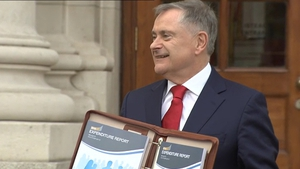 The new statutory minimum wage will rise from €8.65 to €9.15 an hour from January, Mr Howlin announces