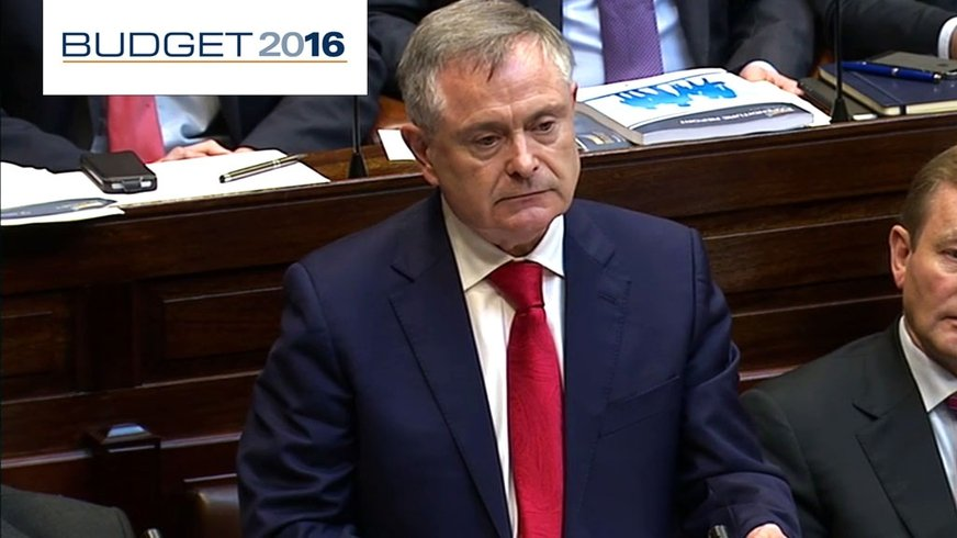 Budget 2016: RTÉ One coverage