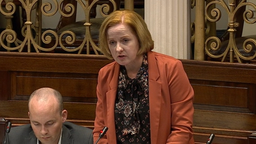 Ruth Coppinger described the most recent official council completion figures as 'shameful and shocking'