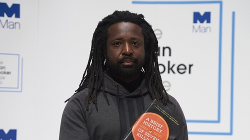 Marlon James who won the Man Booker prize for his novel, A Brief History of Seven Killings